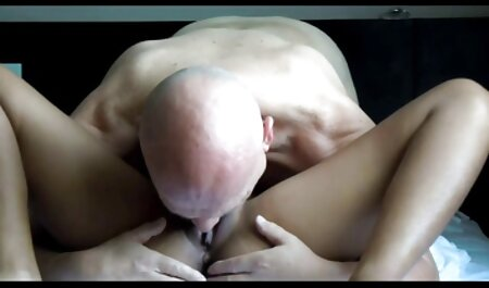 Girl momsex in gray hair bugger sister with a young friend in the hall
