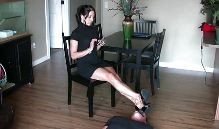 Dominate stroking dog and girl xxx cock slave naked bound