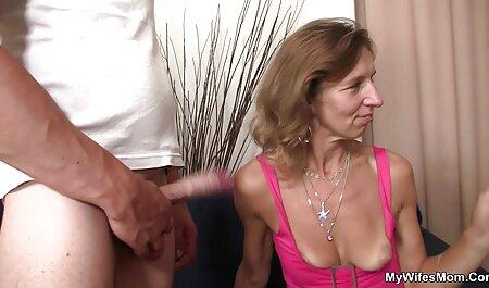 Man Licks vagina of a mature woman adult porn videos and a tear wells